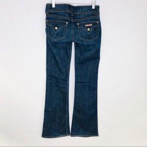 Hudson Bootcut Flap Jeans Size 26 2198